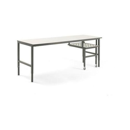 Aj produkty Stół roboczy cargo, z wysuwaną półką, 2400x750 mm