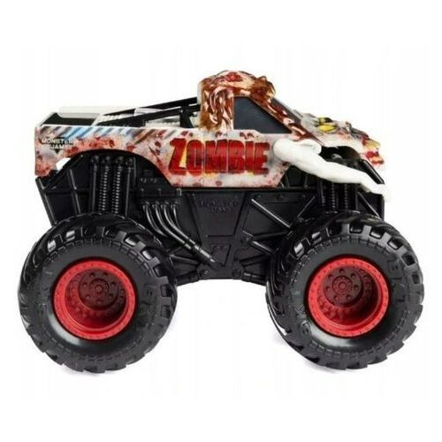 Spin master Pojazd monster jam auto warczące opony zombie