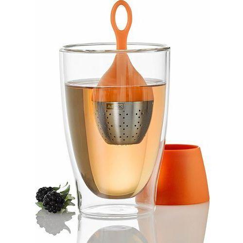 Zaparzaczka do herbaty pomarańczowa Floatea, XTE24