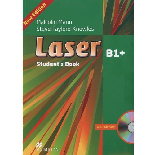 Laser B1+ 3 Edycja (Pre-FCE) Podręcznik + CD (201 str.)