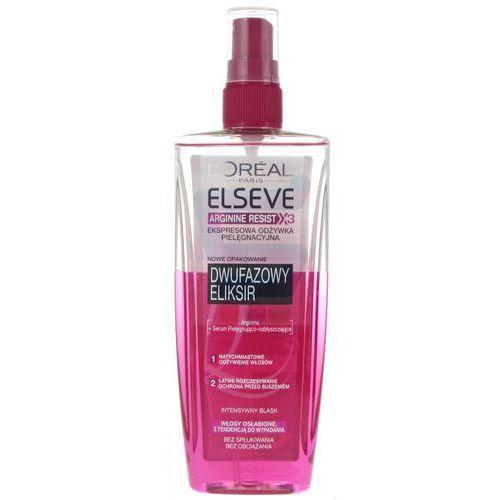 Elseve Arginine Resist X3 Ekspresowa odżywka do włosów w sprayu Dwufazowy Eliksir 200 ml (3600523086276)