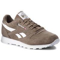Reebok Buty - cl leather mu cn5018 terrain grey/white