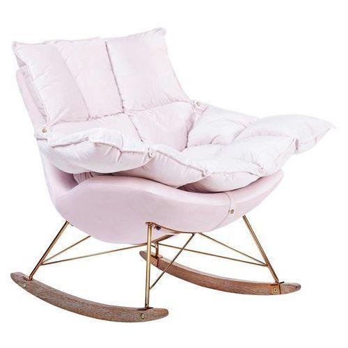 Fotel bujany SWING VELVET HE325B-AY1908-30.LP - King Home - Sprawdź kupon rabatowy w koszyku