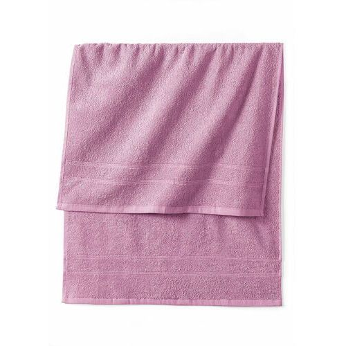 Bonprix Ręczniki z ciężkiego materiału dymny lila