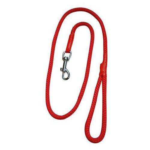 CHABA Smycz linka - 6mm x 120cm czerwona, MS_2072