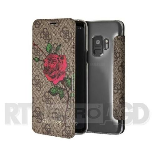 Guess GUFLBKS94GROB Samsung S9 G960 (brązowy) (3700740429815)