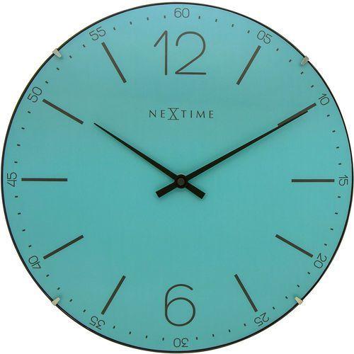 Zegar ścienny 3159 TQ Index Dome śr. 35cm Nextime