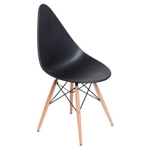 Krzesło Rush DSW czarne, D270542