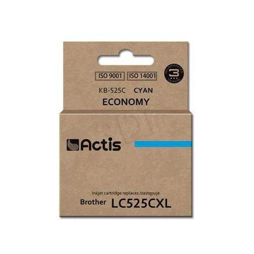 Actis Tusz  kb-525c (do drukarki brother, zamiennik lc525c standard 15ml cyan)