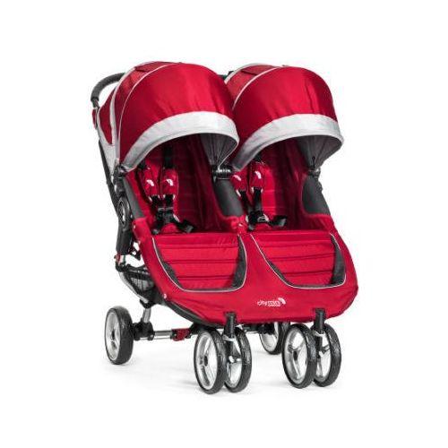 Babyjogger Baby jogger wózek spacerowy podwójny city mini gt double crimson/gray