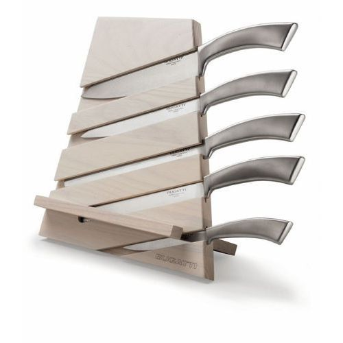 - trattoria blok z 5 nożami ergo - jasne drewno - jasne drewno marki Casa bugatti