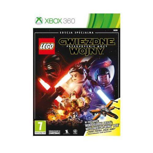 Gra Xbox 360 LEGO Gwiezdne wojny: Przebudzenie Mocy + Minifigurka LEGO: Myśliwiec X-Wing Poe