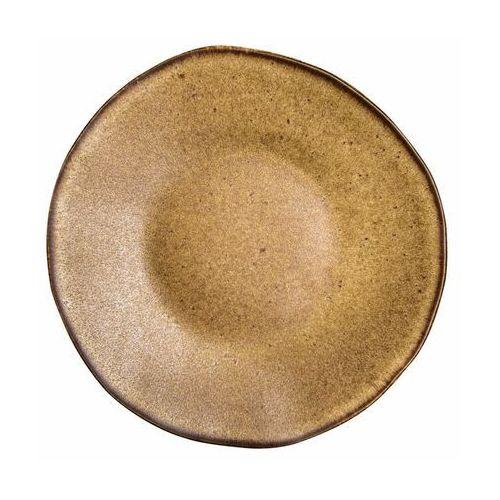 Talerz płytki brass | śr. 210 mm marki Fine dine