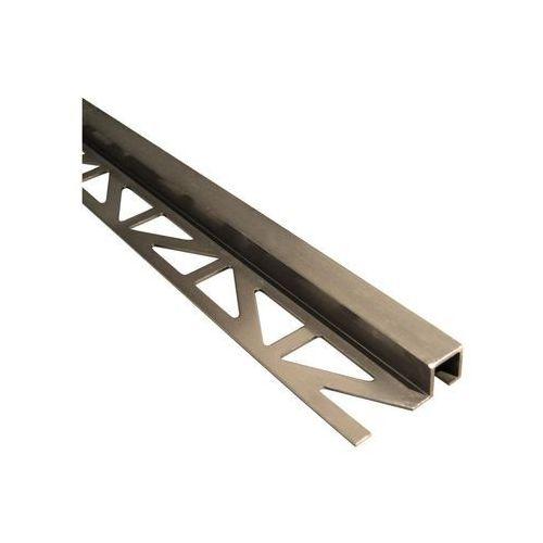 Easy line Profil wykończeniowy zewnętrzny kwadratowy aluminium (5904584889912)