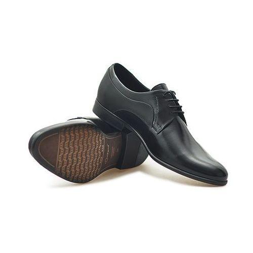 Pantofle c00c-5288-zb24 czarne lico marki Conhpol