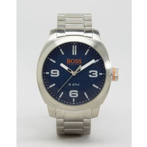 BOSS Orange By Hugo Boss Capetown Bracelet Watch In Silver - Grey