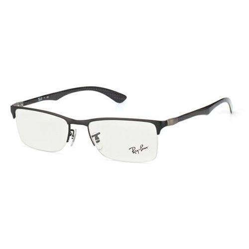 Okulary korekcyjne tech rx8413 carbon fibre 2503 marki Ray-ban