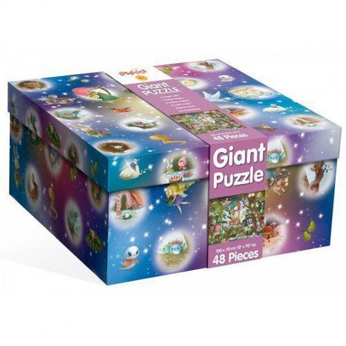 LUDATTICA Gigant puzzle magiczny zamek 48 EL. (8008324047239)