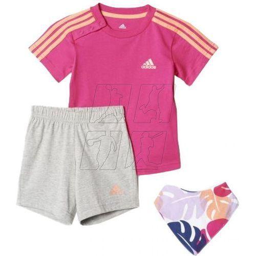 Komplet  dres i summer gift pack kids aj7358 wyprodukowany przez Adidas