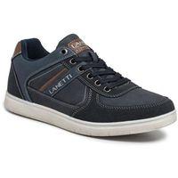 Lanetti Sneakersy - mp07-81101-08 cobalt blue