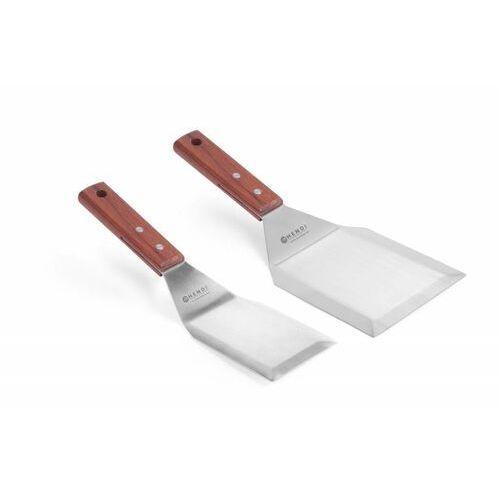 Hendi Szpatuła kątowa do steków | drewniany uchwyt | dwa rozmiary - kod Product ID