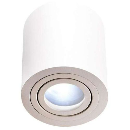 Downlight LAMPA sufitowa RULLO bianco IP44 Orlicki Design OPRAWA metalowa tuba biała, RULLO bianco IP44