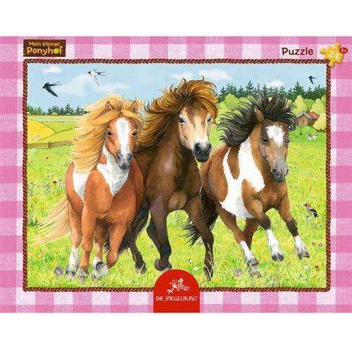 Puzzle w ramce Koń mój przyjaciel Pony