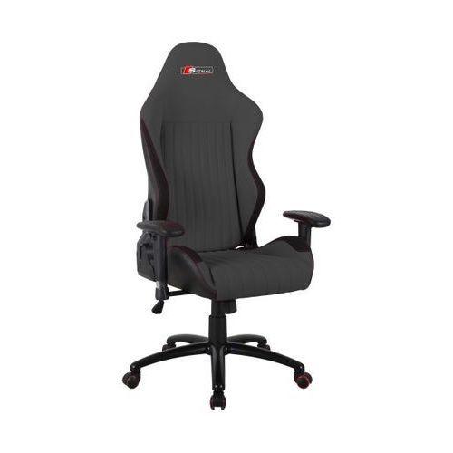 Fotel obrotowy SIGNAL Alpina - szary - Fotel gamingowy dla gracza! DOSTAWA GRATIS Styczniowa Promocja!, Signal