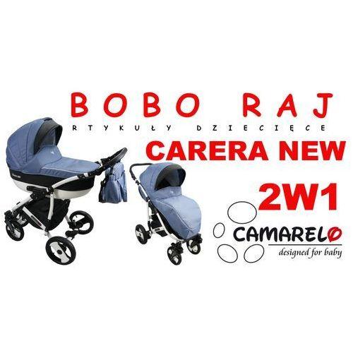 Camarelo Wózek głęboko-spacerowy firmy model carera new+ fotelik odbierz swój rabat tylko dzisiaj!