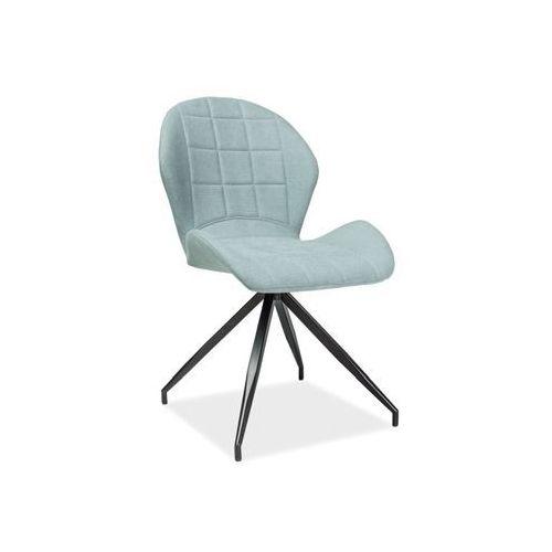 Krzesło - SIGNAL HALS II - mięta materiał - LOFT, Signal
