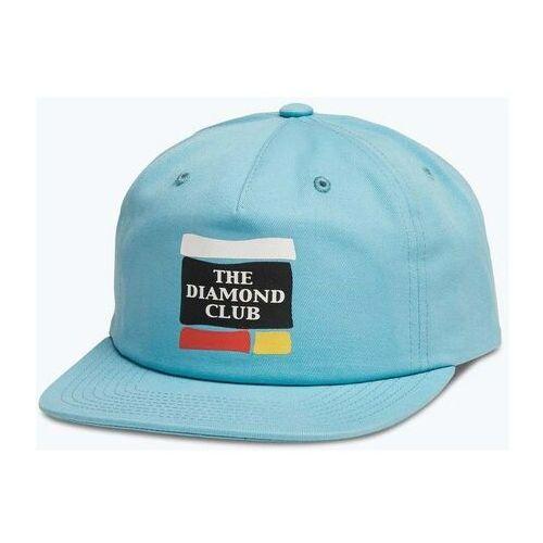 czapka z daszkiem DIAMOND - Member Unconstructed 5-Panel Blue (BLU) rozmiar: OS, kolor niebieski