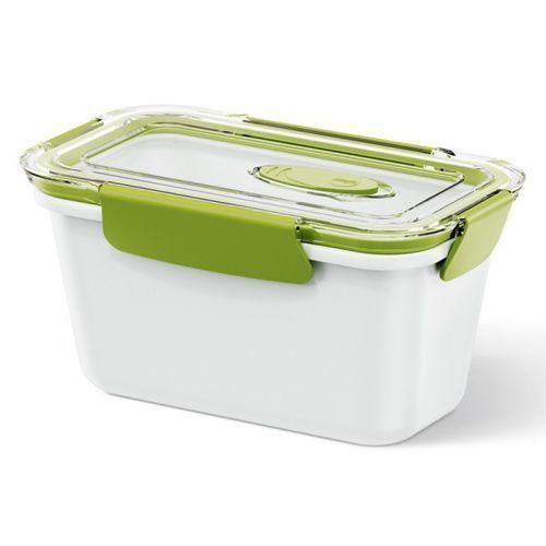 Lunchbox Wysoki 0,9 L Biało-Zielony Bento Box Em-513959 z kategorii Pozostałe