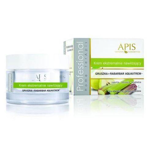 Apis home terapis ekstremalnie nawilżający krem z gruszką i rabarbarem aquaxtrem™ 50 ml marki Apis natural cosmetics