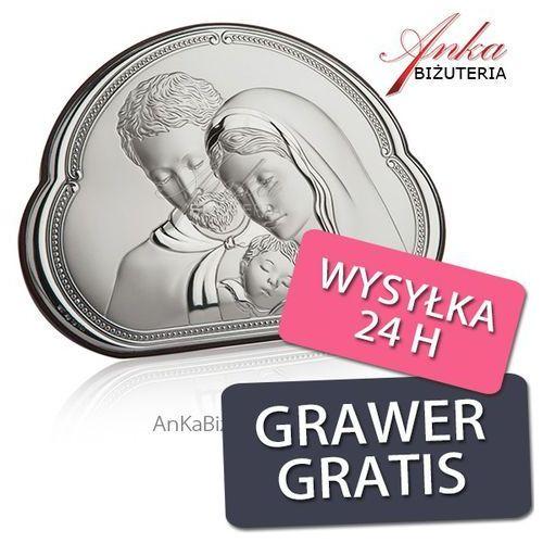 Piękny obrazek srebrny święta rodzina 14 cm* 10 cm marki Valentini. Najniższe ceny, najlepsze promocje w sklepach, opinie.