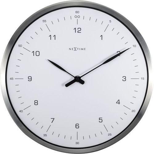 NeXtime - Zegar ścienny 60 Minutes - biały