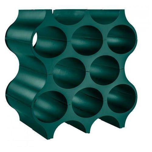 Koziol Stojak na butelki 35x23 cm set-up szmaragdowa zieleń kz-3596649