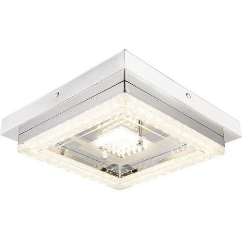Skrea lampa sufitowa led chrom, 1-punktowy - nowoczesny - obszar wewnętrzny - deckenleuchte - czas dostawy: od 4-8 dni roboczych marki Hofstein