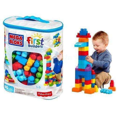 Klocki Mega Bloks Fisher Price w Torbie 80 el.