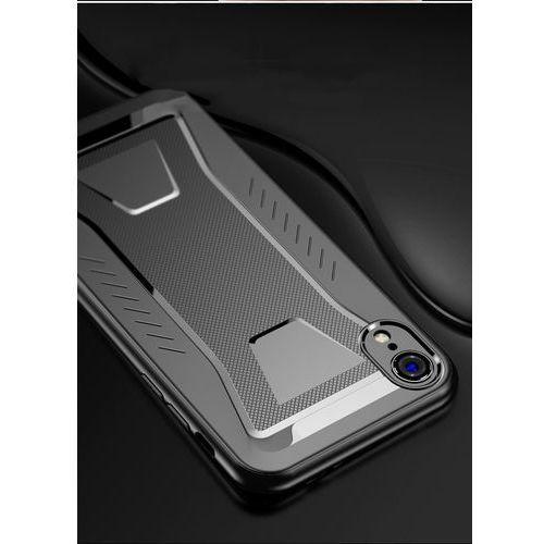 iPaky Shark elastyczne etui pokrowiec iPhone XS Max czarny, kolor czarny