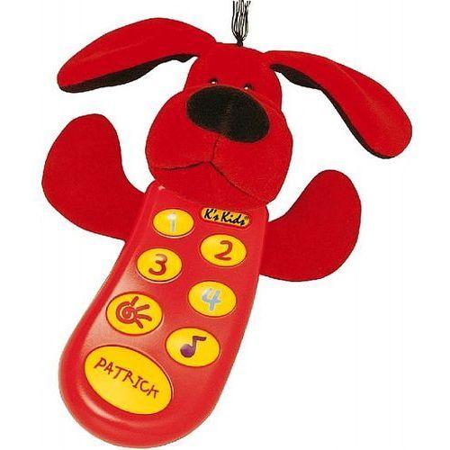 K's kids Interaktywny telefon czerwony pies patryk