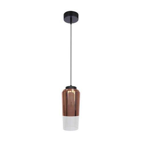 Lampa wisząca zwis żyrandol Candellux Tube 13 1x60W E27 miedziany 31-51271, 31-51271