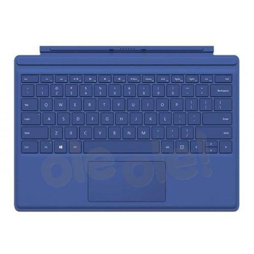 surface pro 4 type cover qc7-00096 (niebieski) - produkt w magazynie - szybka wysyłka! marki Microsoft