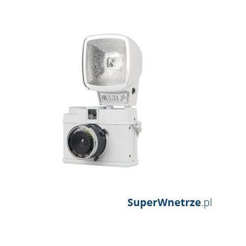 Aparat lomograficzny diana mini & flash package biały marki Lomography