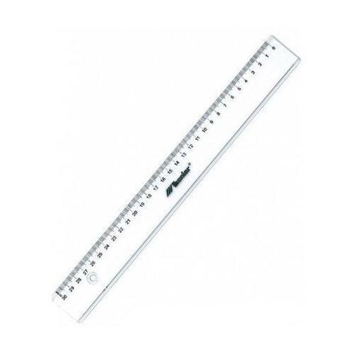 Linijka leworęczna plastikowa Leniar 30cm 20101L