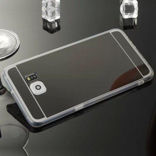 Slim Mirror Case Czarny | Etui dla Samsung Galaxy S7 - Czarny, kolor czarny