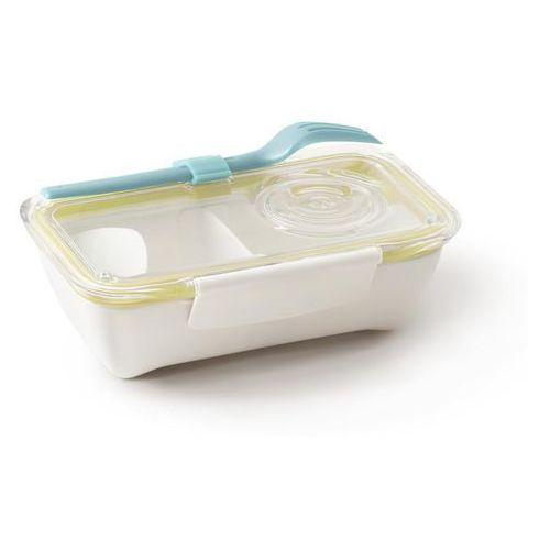 Pudełko na lunch Bento żółto-niebieski