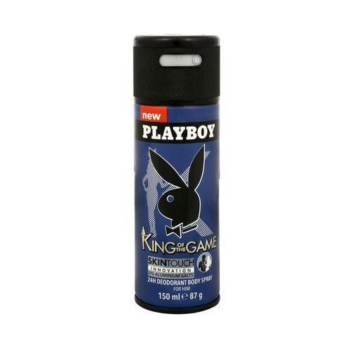 Dezodorant Playboy King Of The Game dla mężczyzn w sprayu 150 ml (3614222348573)