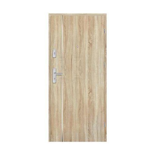 Nawadoor Drzwi wejściowe grafen top dąb sonoma 80 prawe (5901832045793)