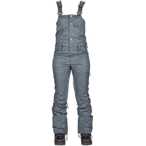 spodnie NIKITA - Evergreen Stretch Denim Bib Blue (BLD)