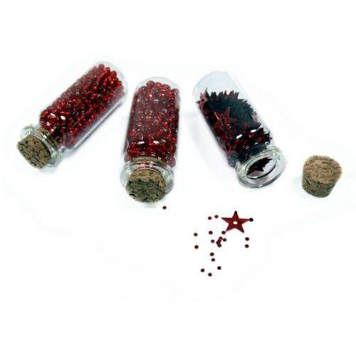 Titanum Koraliki konfetti kamyki dekor 3 rodzaje craft-fun